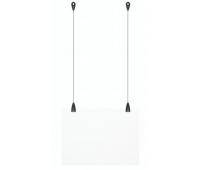 Комплект для підвісу рекламних вивісок Uni Hanger & Panel Grip