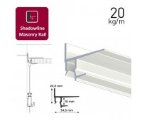 Shadowline Masonry профіль білий 250 см для гіпсокартонної стелі