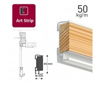 Art Strip профіль білий 300 см