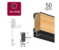 Art Strip профіль чорний 300 см