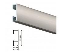 Click Rail профиль серый 200см